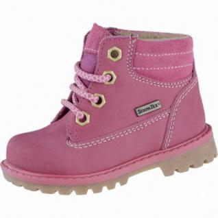 Richter Mädchen Leder Winter Sympatex Boots fuchsia, Warmfutter, warmes Fußbett, mittlere Weite, 3239123