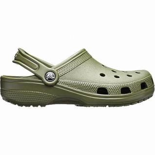 Crocs Classic Damen, Herren Crocs army green, Massage Fußbett, verstellbarer ...