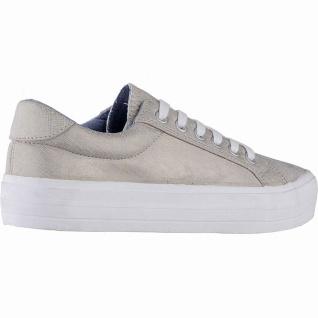Canadians coole Damen Synthetik Sneakers beige, softe Decksohle, 30 mm Platea... - Vorschau 3
