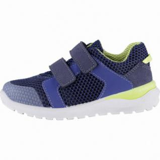 Ricosta Anton coole Jungen Synthetik Sneakers royal, mittlere Weite, Ricosta Fußbett, 3340185