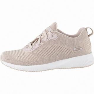 Skechers Bobs Squad coole Damen Strick Sneakers light pink, Skechers Memory Foam-Fußbett, 4142109/36