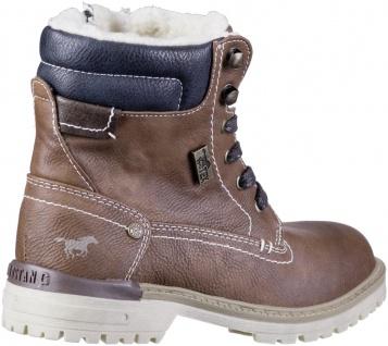 MUSTANG Jungen Winter Synthetik Tex Boots kastanie, Warmfutter, warme Decksohle - Vorschau 2