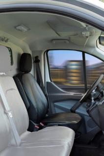 Passform Transporter Sitzbezüge Ford Transit, passgenauer Sitzbezug Einzelsitz, Kunstleder, ab Bj. 05/2014