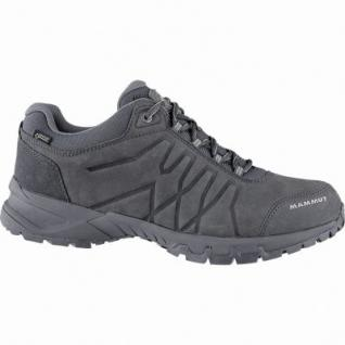 Mammut Mercury III Low GTX Men Leder Softshell Outdoor Schuhe graphite, Gore Tex Ausstattung, 4440171