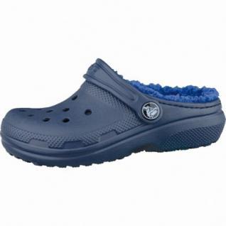 Crocs Classic Lined Kids Mädchen und Jungen Winter Clogs cerulean blue, Warmfutter, 4337104/32-33