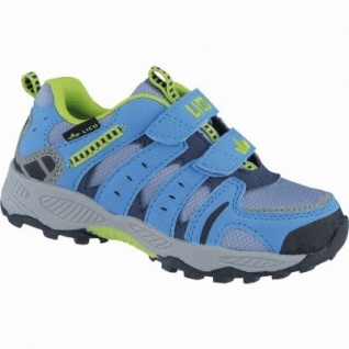 Lico Fremont V sportliche Jungen Nylon Trekking Schuhe grau, herausnehmbares Fußbett, 4438108/33