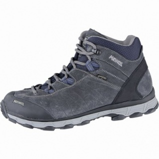 Meindl Asti Mid GTX Herren Leder Outdoor Stiefel anthrazit, Comfort-Fit-Fußbett, 4440113