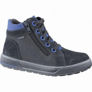 Superfit Jungen Winter Leder Gore Tex Boots charcoal, Warmfutter, anatomisches Fußbett, 3739146