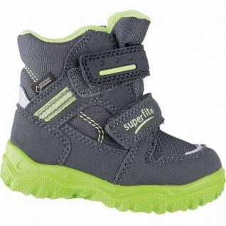 Superfit Jungen Winter Synthetik Tex Boots grau, mittlere Weite, molliges Warmfutter, warmes Fußbett, 3241106/27