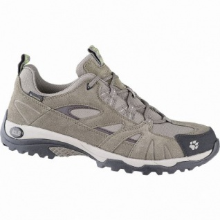 Jack Wolfskin Vojo Hike Texapore Women Leder Outdoor Schuhe green, herausnehmbare Einlegesohle, 4441172/8.5