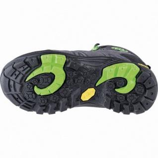 Brütting Mount Bona High Kids Mädchen, Jungen Leder Trekking Schuhe anthrazit, Textilfutter, Textileinlegesohle, 4441105/31 - Vorschau 2