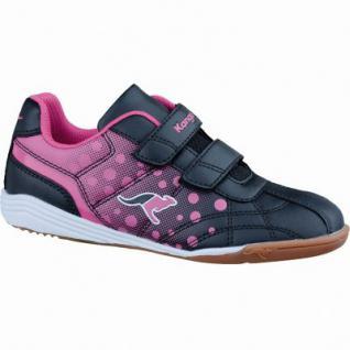 Kangaroos K-Dot Mädchen Synthetik Sportschuhe black, weiches Fußbett, 4037105