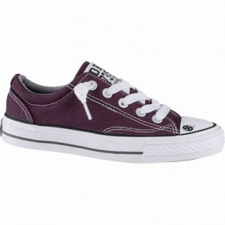 Dockers coole Mädchen Canvas Sneakers dunkelrot, Sneaker