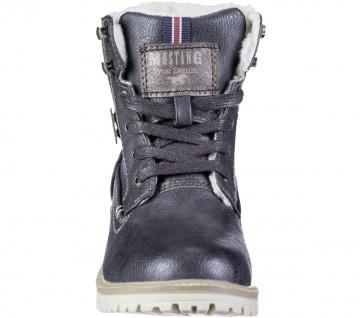MUSTANG Jungen Winter Synthetik Tex Boots graphit, Warmfutter, warme Decksohle - Vorschau 4
