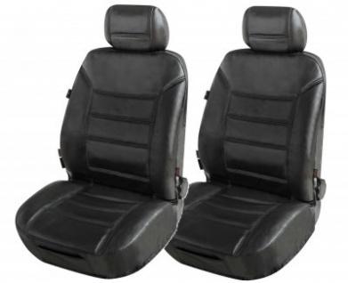 zipp it 2 st ck universal echt leder auto sitzbez ge. Black Bedroom Furniture Sets. Home Design Ideas