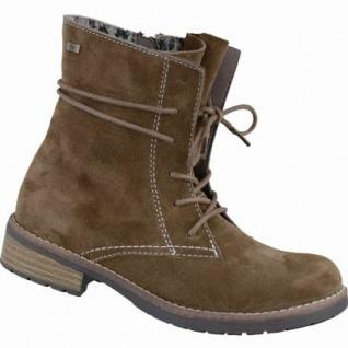 Lurchi Leonie Tex Mädchen Leder Boots brown, mittlere Weite, Warmfutter, warmes Fußbett, 3737206/31
