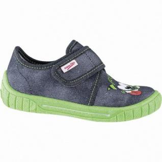Superfit leichte Jungen Textil Hausschuhe grau, mittlere Weite, anatomisches Superfit Fußbett, 3841109/31