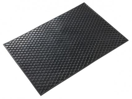Universal TPR Auto Gummimatten schwarz 70x49 cm, Anti Slip, rutschhemmende Sp...