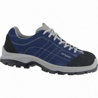 Grisport Monza Herren Leder Sicherheits Schuhe blu, DIN EN ISO 20345, ölresistent, 5337102