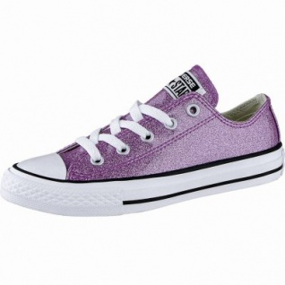 Converse Chuck Taylor All Star - OX Mädchen Glamour Sneakers bright violet, Converse Laufsohle, 3340106