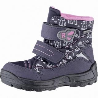 Richter Mädchen Tex Boots atlantic, mittlere Weite, molliges Warmfutter, warmes Fußbett, 3241129/25