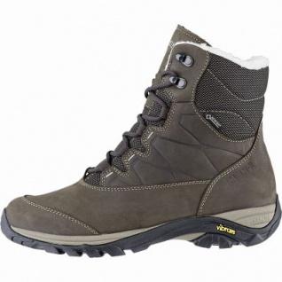 Meindl Locarno Lady GTX Damen Leder Winter Trekking Stiefel braun, 15 cm Schaft, Winterfilz Fußbett, 4441116/4.5