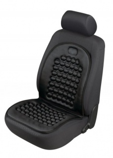 komfortable Universal Polyester Auto Sitzauflage S-Race rot, 12 mm Schaumstoff Polsterung, waschbar, PKW Sitzaufleger
