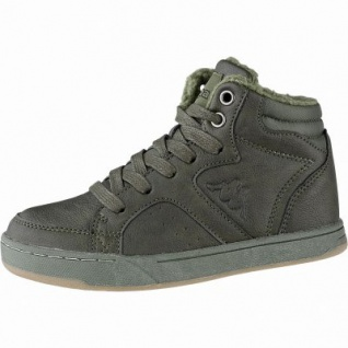 Kapppa Nanook coole Jungen Synthetik Winter Sneakers army, Warmfutter, herausnehmbares Fußbett, 3741128/29