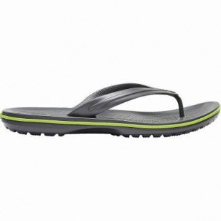Crocs Crocband Flip Damen, Herren Flip Flops graphite, weiche Laufsohle, schnell trocknend, 4340112/36-37