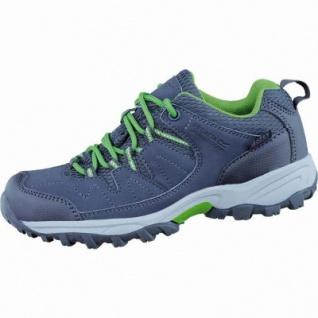 Regatta Holcombe Low JNR Mädchen Outdoor Schuhe seel grey ext green, Isotex Ausstattung, EVA-Komfortfußbett, 4436151/33