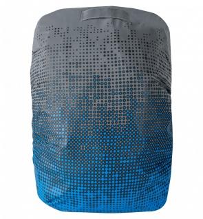 Safety Maker Rucksack Hülle hochreflektierend blau, wasserbeständig, 30 Liter...
