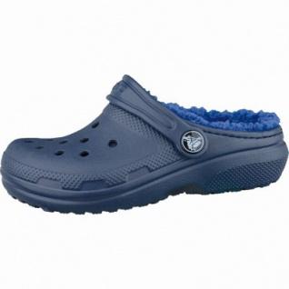 Crocs Classic Lined Kids Mädchen und Jungen Winter Clogs cerulean blue, Warmfutter, 4337104/25-26