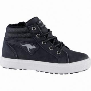 Kangaroos KaVu l coole Jungen Synthetik Winter Sneakers black, Warmfutter, warmes Fußbett, 3739135/36