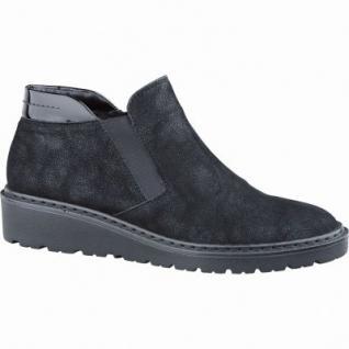 Jenny Portland Damen Synthetik Boots schwarz, Weite G, Warmfutter, Luftpolstersohle, Jenny Fußbett, 1737131
