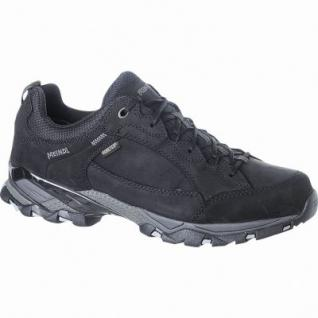 Meindl Toledo GTX Damen, Herren Leder Trekking Schuhe schwarz, Goretex Ausstattung, 4423113/7.0
