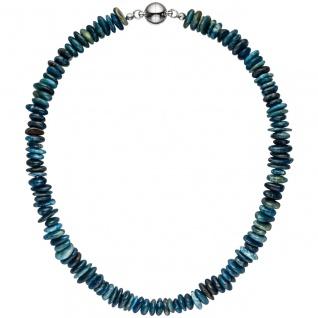 Halskette Kette Apatit 45 cm Apatitkette Steinkette Edelsteinkette