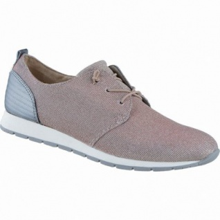 TOM TAILOR coole Damen Synthetik Sneakers old rose, flexible Tom-Tailor-Laufsohle, 1238208/37