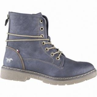 Mustang kuschlige Damen Synthetik Boots navy, Warmfutter, warme Decksohle, Mustang Laufsohle, 1641148/38