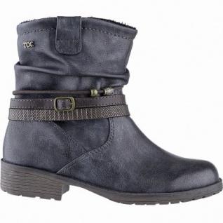 Indigo modische Mädchen Synthetik Tex Stiefel navy, warmes Fleecefutter, weiches Fußbett, 3741192