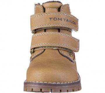 TOM TAILOR Jungen Leder Imitat Lauflern Boots camel, Fleecefutter, warmes Fuß... - Vorschau 4