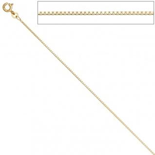 Venezianerkette 585 Gelbgold 1, 0 mm 42 cm Gold Kette Halskette Goldkette - Vorschau 4
