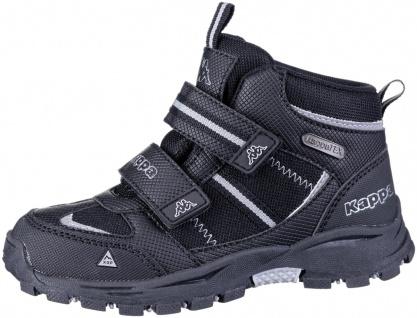 KAPPA Hovet Tex Jungen Winter Synthetik Boots black, Kappa Tex Waterproof Aus... - Vorschau 4