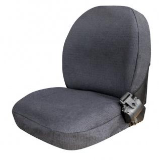 Semi Passform Sitzbezug, Schonbezug für Traktoren, Baumaschinen, Größe 1 ohne...