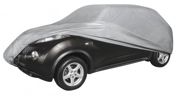 SUV Autogarage, PEVA Abdeckplane Vollgarage XL grau, 520x185x155 cm, Ganzgara...