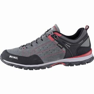 Meindl Ontario GTX Herren Leder Trekking Schuhe rot, herausnehmbares Air-Acti...