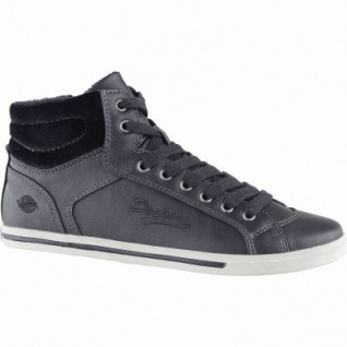 Dockers modische Damen Synthetik Winter Sneakers schwarz, Warmfutter, Sneakerlaufsohle, 1639357/37