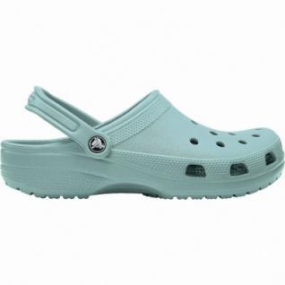 Crocs Classic coole Damen Clogs tropical teal, Massage-Fußbett, Belüftungsöffnungen, 4340107/36-37