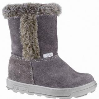 Pepino Usky Mädchen Leder Winter Tex Boots meteor, molliges Lammwollfutter, warmes Fußbett, mittlere Weite, 3241143/23