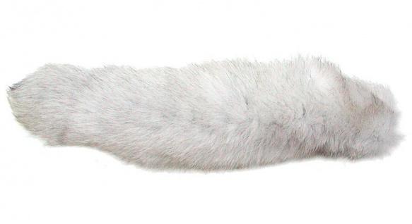interessanter Fuchsschwanz vom Eisfuchs, für Dekoration und Bekleidung, ca. 3...