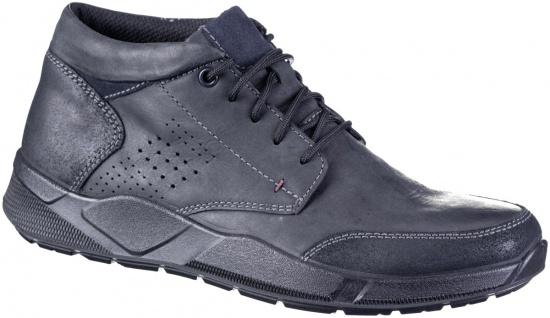 JOMOS Herren Leder Boots schwarz, Jomos Aircomfort Fußbett, Climafutter